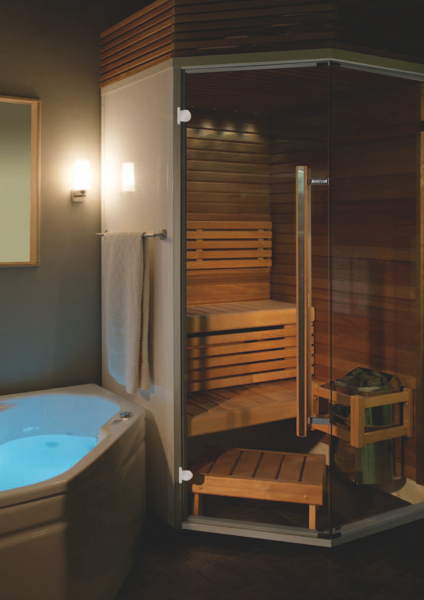 Bathroom Sauna And Steam Room: Saunaklefar Og Hús